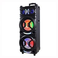 wholesale Cheap And Good Sound Music bluetooth karaoke speaker With Led Lighting color dj speaker