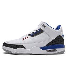 Новый стиль Баскетбольная обувь мужские легкие уличные баскетбольные кроссовки мужские амортизирующие Ретро Джордан ботильоны Basket Homme 2020(Китай)