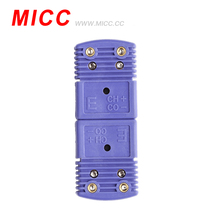 MICC 200 centigrades <span class=keywords><strong>ANSI</strong></span> code couleur E type Omega mini connecteurs