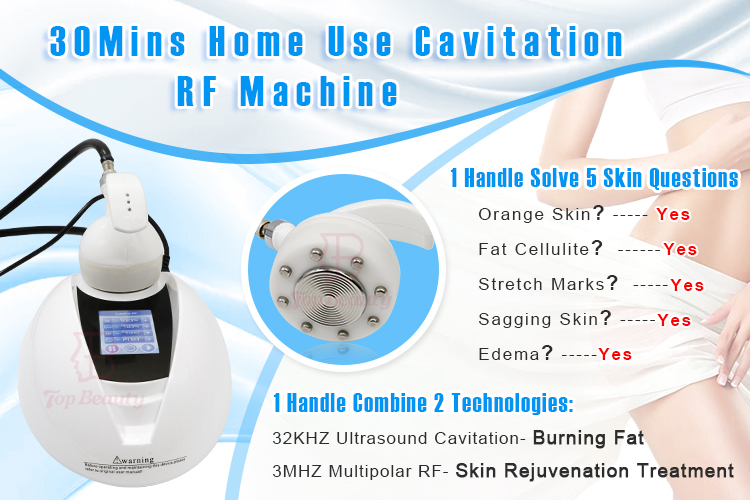 portable cavitation machine body slimming