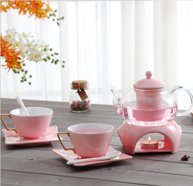 2020 hot sales have a nice day mug Afternoon Fruit tea ceramic coffee set cups
