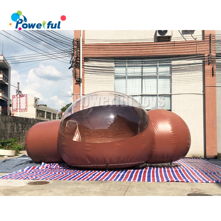 Hot sale inflatable bubble camping tent clear inflatable lawn tent inflatable bubble tent