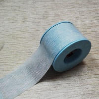 Medical low allergy waterproof clear silicone tape 1.25cmx5m