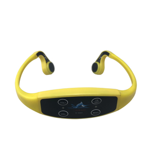 Waterproof Wireless Portable Saltproof Long Range 1km 7 Channels Swimming Training Bone Conduction Headphone