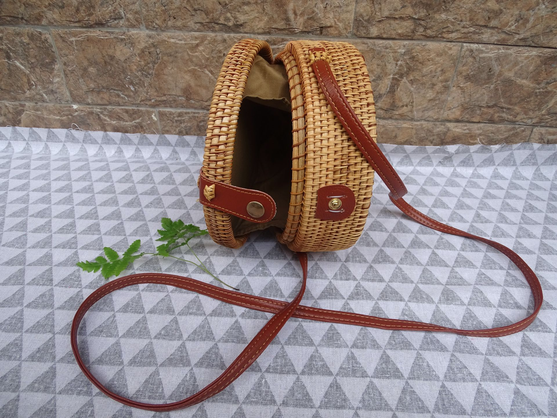 fashion woven beach bag angedanlia on sale for summer-3