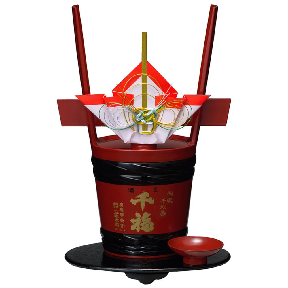 Japanese culture gift set 1.8L good luck gentle fragrance rice wine