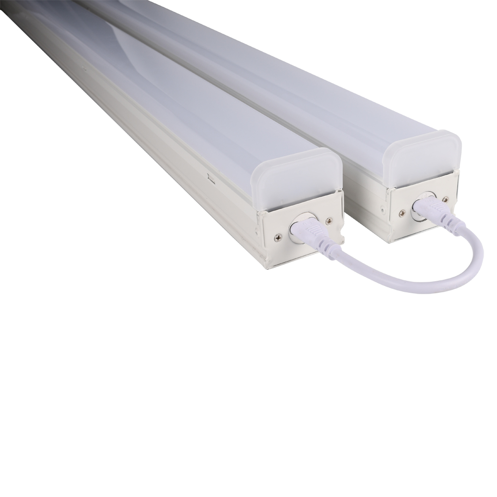 Emergency Backup and Motion Sensor Optional 4ft 8ft Linkable Linear LED Batten Light