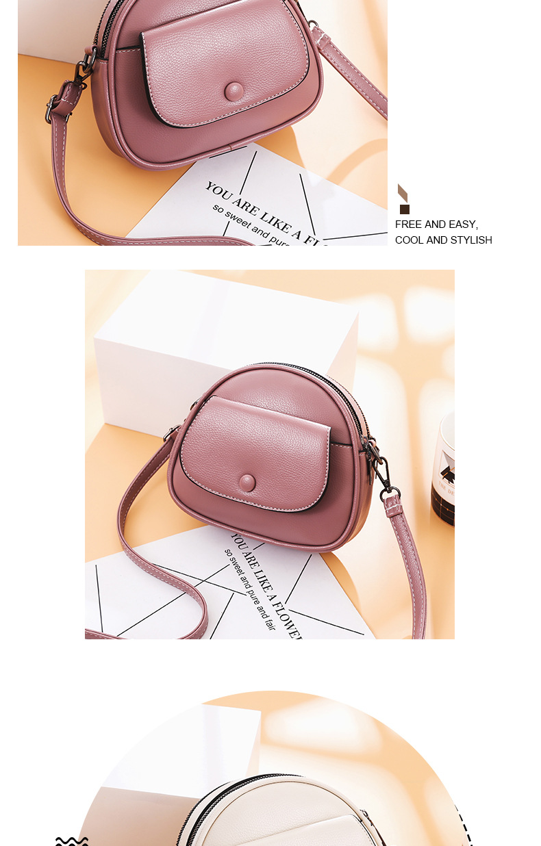 product-Fashion Small Cross body Bags for Women 2020 Mini PU Leather Shoulder bag Messenger Bag for -1