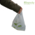 PBAT 100% biodegradable compostable bio plastic bag with handle for shopping