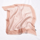Scarf Korean Version Fold Literary Retro Ladies Silk Scarf Fashion Trend Spring Summer Young Girl Silk Scarf
