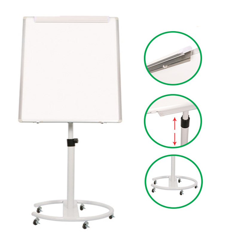 Magnetic Mobile Flipchart Easel Whiteboard Stand With Wheels For Meeting Room Buy Flip Chart Board Flip Chart Baord Paper Magnetic Board Mobile Whiteboard Product On Alibaba Com