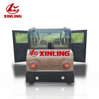 2019 XINLING fashion design Solar electric car adult 3 seat electric mini car made in China