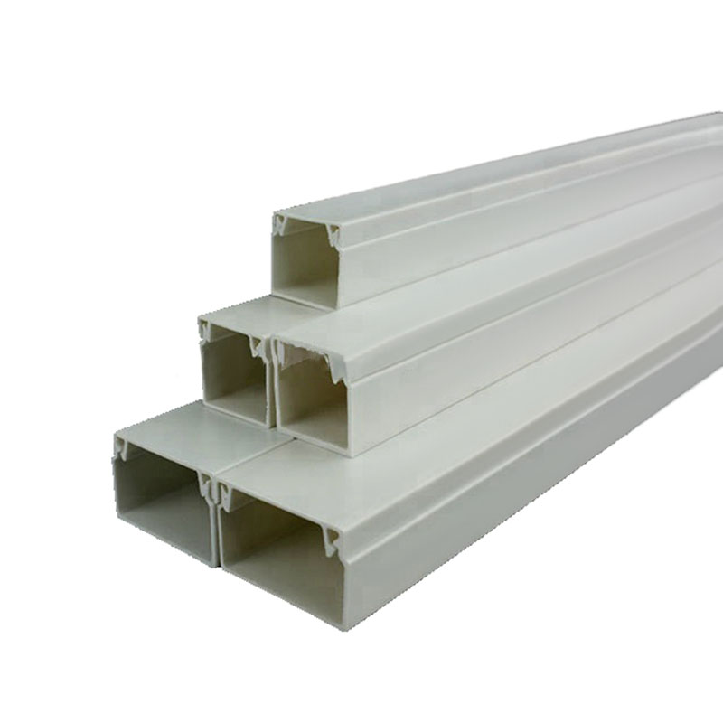 Factory wholesale electric square enduring wiring duct pvc cable <strong>trunking</strong>