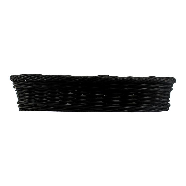 エコフレンドリー安い空フルーツ野菜ギフトクラフト用品籐卵バスケット長方形