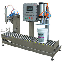 High Quality 5 Gallon Semi-automatic Weighing Filling Machine For Liquid Olive Oil Lubricating Motor Oil Bulk Package