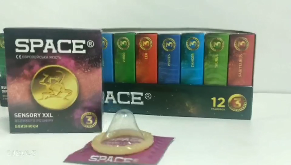 various condom dotted plain male sex condom for men