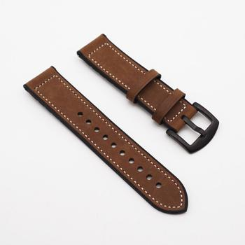 JUELONG Leather And Silicon Watch Band 18mm 20mm 22mm 24mm Custom Watch Strap For Men/Women
