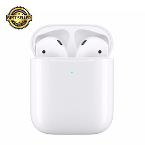 LINK-TO factory direct 1:1 appled originales airpoding 2 bluetooth wireless earphone with rename & GPS