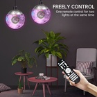 Top sale al digital remote control islamic muslim player pendent colorful led light starry moon lamp quran speaker