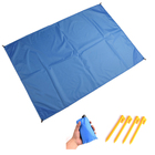 Sand Free Beach Blanket Extra Large Oversized 10'X 9' for 7 Adults Beach Mat Big Compact Sand Proof Mat Quick Drying Light