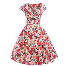 Женское платье MOVOKAKA, элегантное платье для свадебной вечеринки, летнее платье для женщин, повседневные платья больших размеров 2020, однотонн...(Китай)