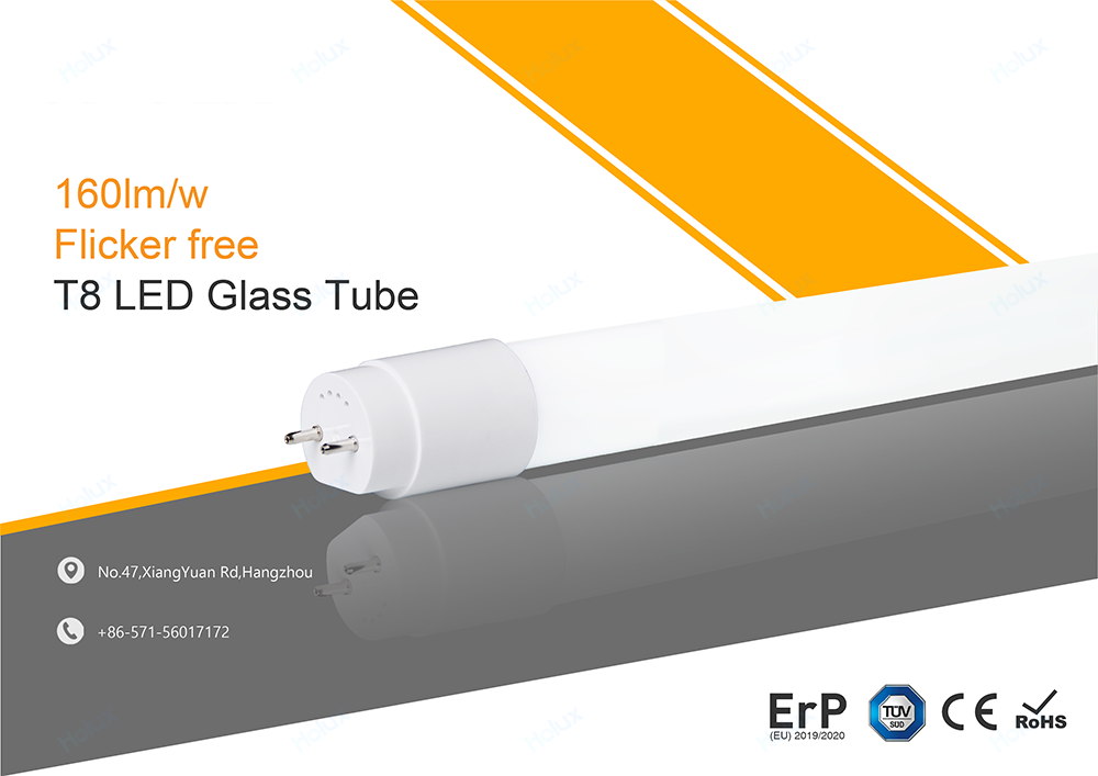 Warehouse in Germany TUV GS ERP 600mm 900mm 1200mm 1500mm 9w 14w 18w 24w 3000lm 4000lm T8 G13 LED Glass Tube Light with Starter