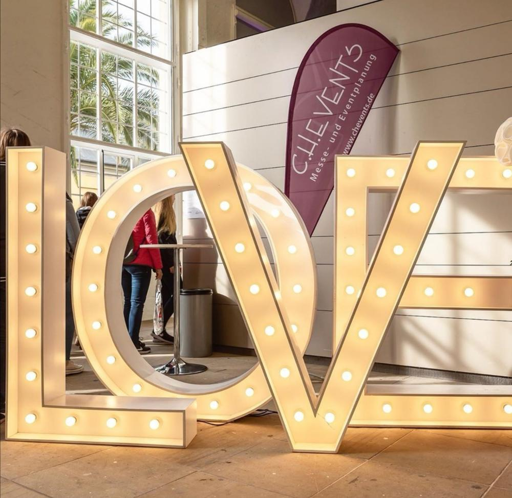 Acrylic Custom Love Signs Large Wedding Led Marquee Letters Light