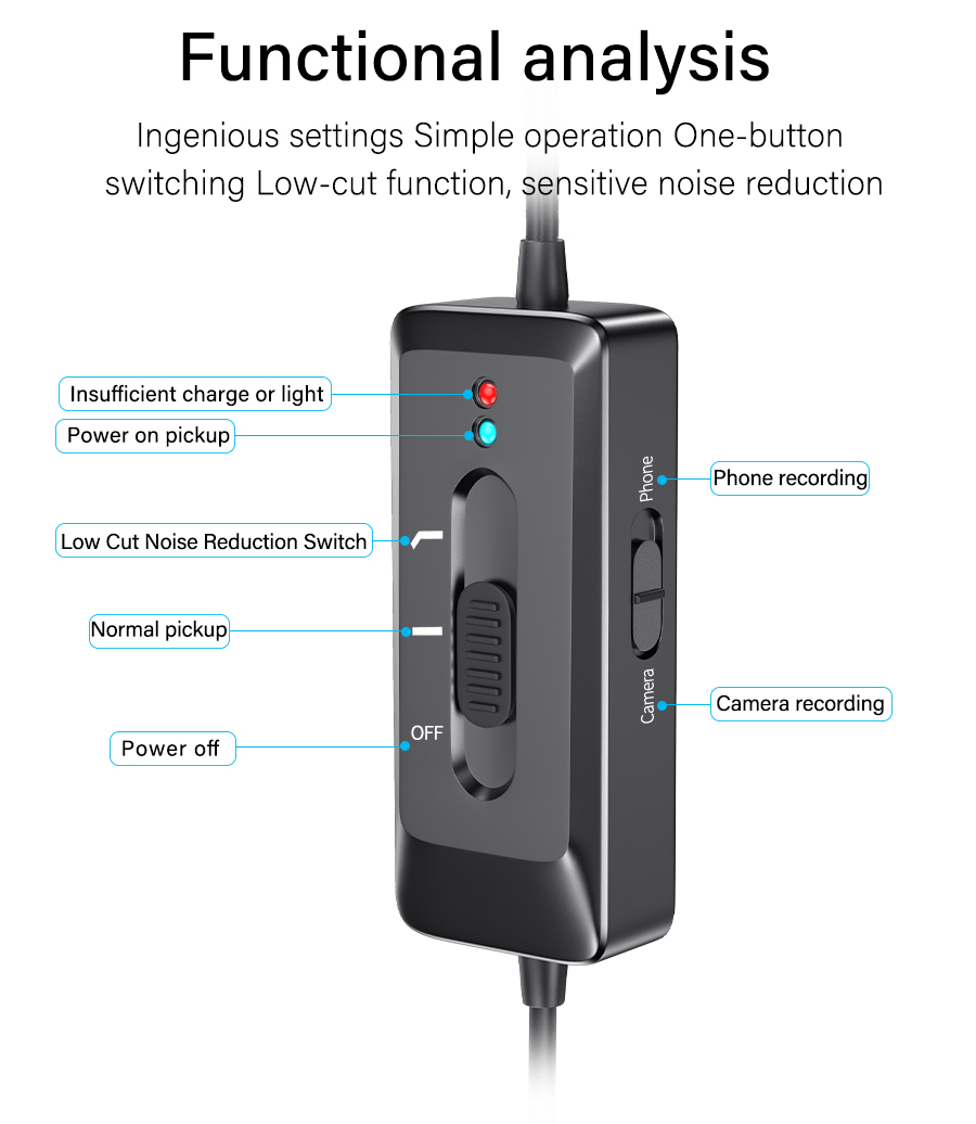 Mini portable studio condenser wireless microphone omnidirectional for professional recording usb universal microphone