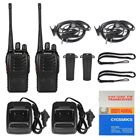 2pcs Long Range Walkie Talkie Baofeng 888s UHF 400-470MHZ 2-Way Radio 16CH 5W BF-888S in one box