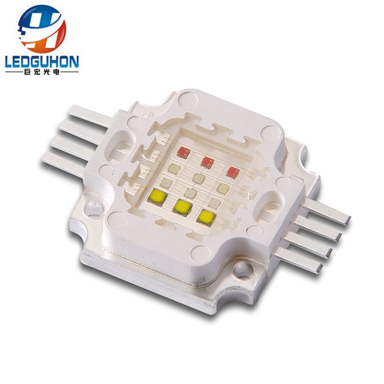 led module 12W RGBW 4in1 full colors led 30mil Chip cob For Decoration LED