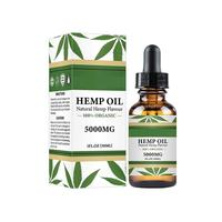 Hemp Seed Oil Drops 5000mg Hemp Oil Extract All Natural Drops 100% Organic Non-GMO