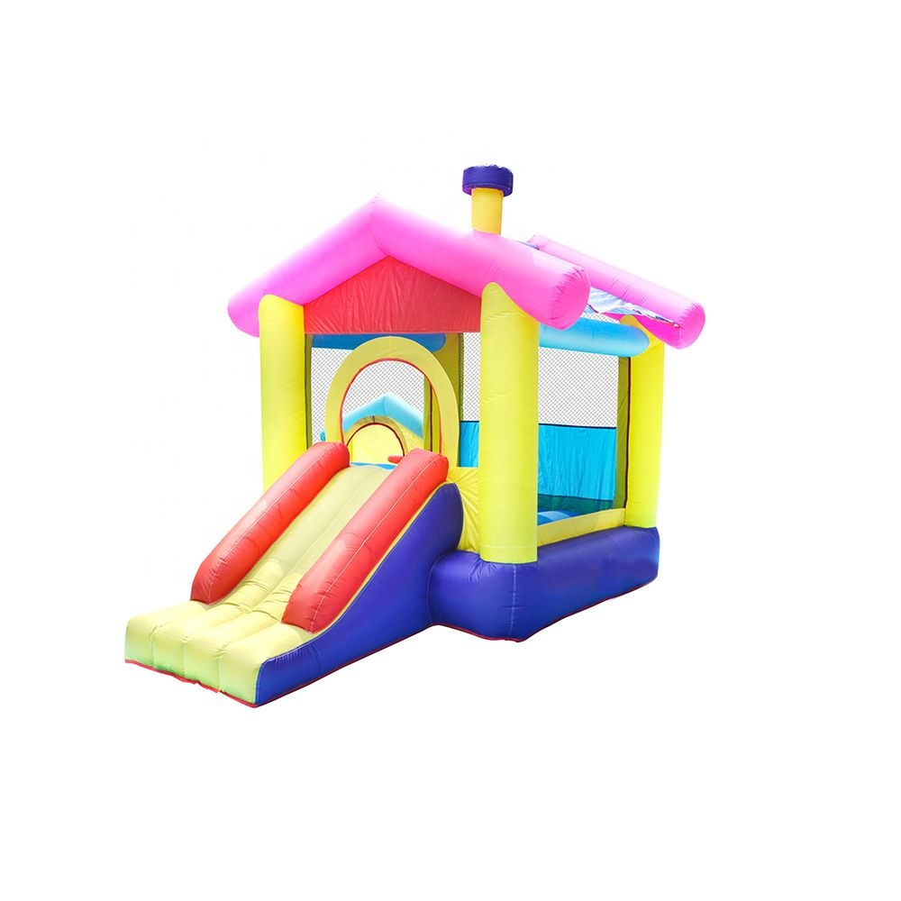 Commercial Outdoor Indoor Inflatable Jumping Bounce House Kid Castle Bed with Slide China