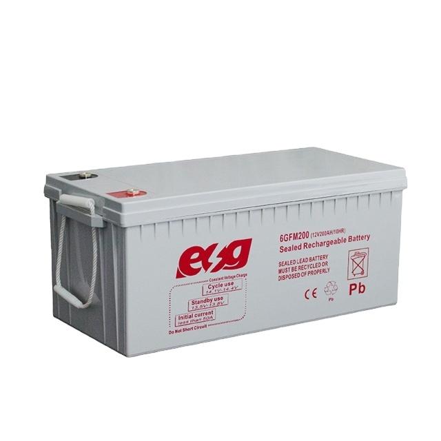מכירה לוהטת באיכות גבוהה עופרת חומצת agm 2V2500AH OPZS שמש סוללה