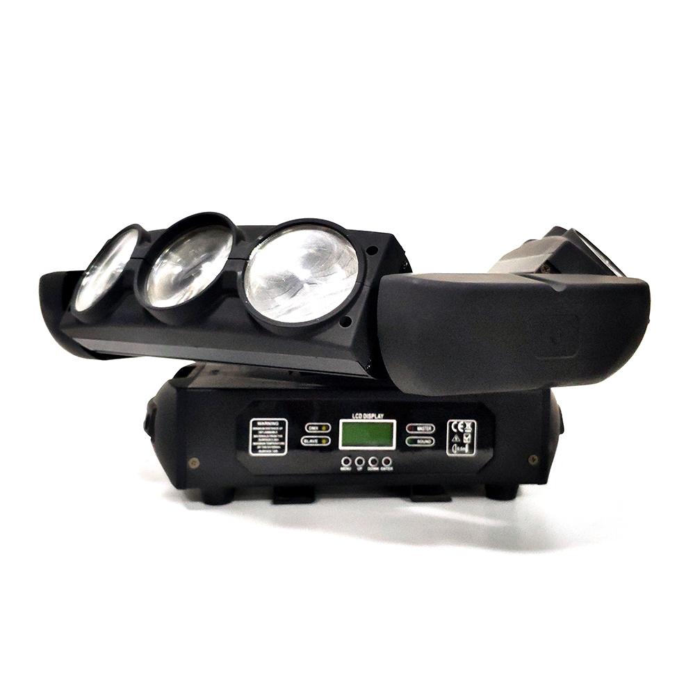 Laser LED Stage Light 9PCS Spider Moving  Light RGBW Light