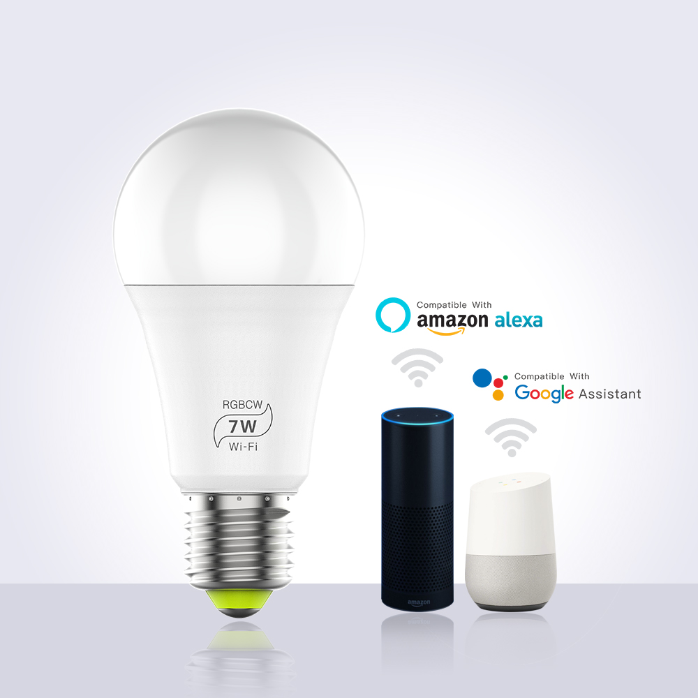 RGBW Smart Bulb Light Indoor Night Light Wireless Remote Control Led Light Bulbs <strong>e27</strong>