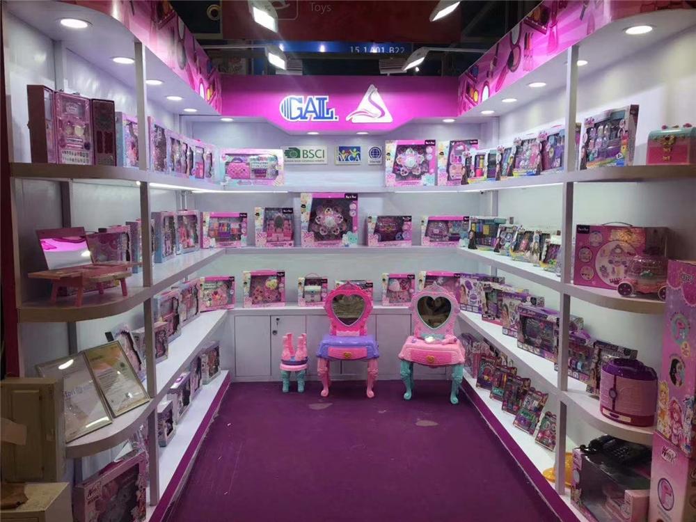 Portable cosmetics case nail polish beauty set kid pretend toys make up set for girl