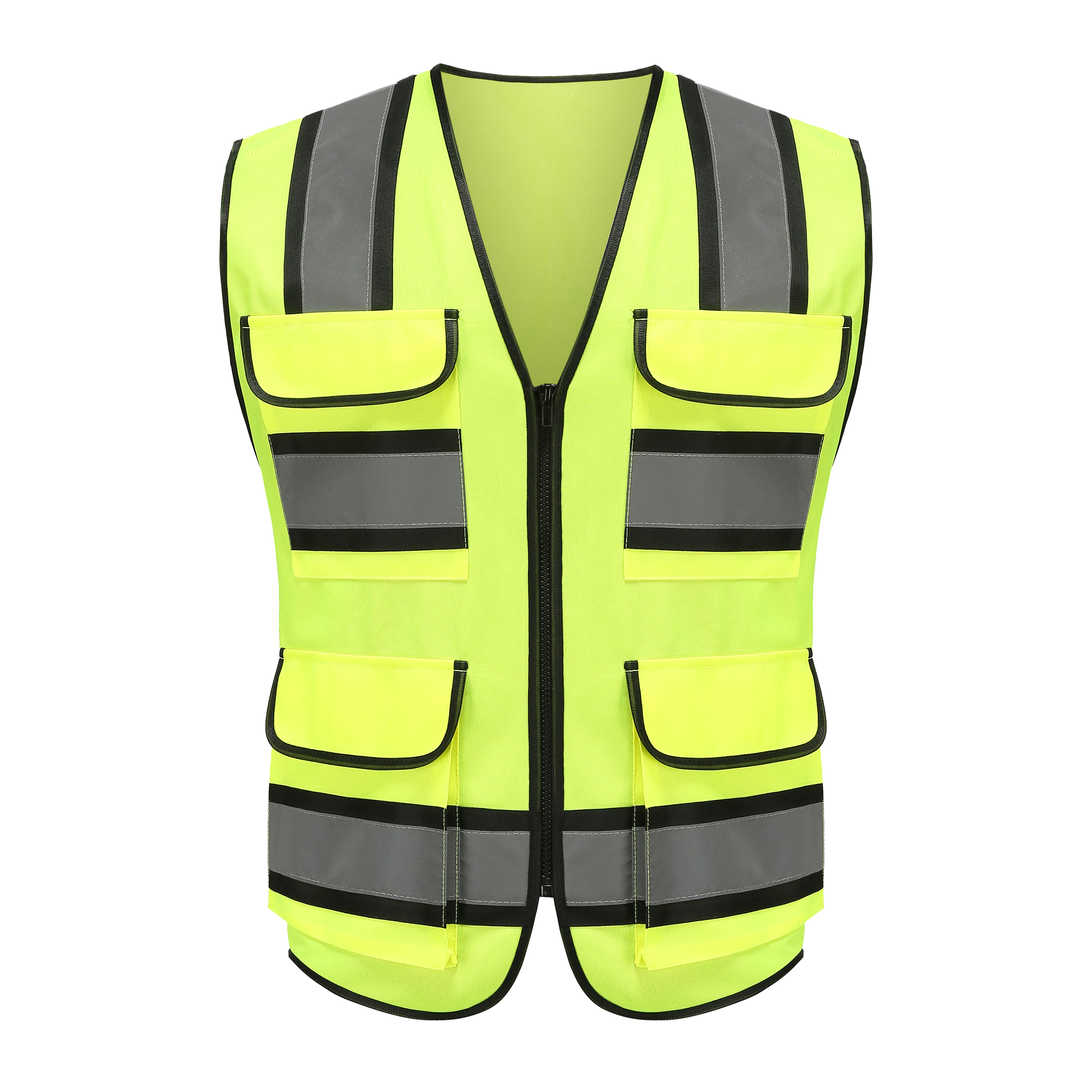 custom safety high visibility <strong>vest</strong> <strong>orange</strong>&amp;yellow traffic <strong>vest</strong>