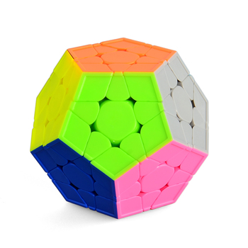 Yuxin Smooth Durable Speed Five Corners Cube 3x3x3 Dodecahedron Magic Puzzle Cube - Colorful