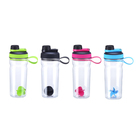 2020 Hot Selling 700ML Bpa Free Plastic Sport Shaker Water Bottle Protein Shakes Bottle With Plastic Mxing Ball