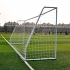 Portable Goals Soccer Goal Soccer Goals Football High Quality Big 18.5'*6.5' Feet Portable Zinc Sports Goals Soccer Football Goal Training Equipment For Backyard