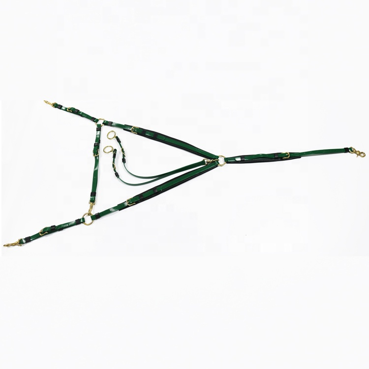 Pvc Green Adjustable <strong>Horse</strong> Running Martingale For <strong>Horse</strong> Running