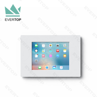 LSW06 7.9-12.9 inch Universal Acrylic case for tablet wall mount,VESA mountable tablet wall mount enclosure for iPad 2/3/4,Air