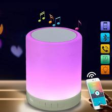 Draadloze Bluetooth Draagbare Speaker Nachtkastje <span class=keywords><strong>Lamp</strong></span>, Touch Control Dimbare Smart Bluetooth Bureaulamp <span class=keywords><strong>Lamp</strong></span>