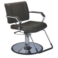 Black color Good Quality styling chair HZ8869 for hair salon ;styling chair for sale cheap;Black styling chair