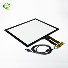 Industrie Touchscreen panel fabrikant I2C USB UART interface 17 inch capacitieve touchscreen
