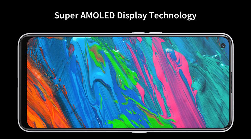 Realme Q2 Pro 5G 8GB 128GB Dimensity 800U Octa Core Mobile Phone 6.4'' Fullscreen 4300mAh Battery 65W Fast Charger 48MP Camera