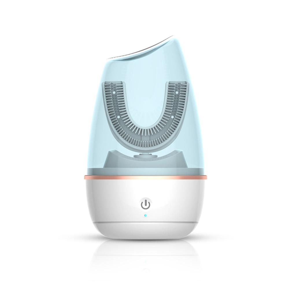 2020 Nieuwe Product U-vormige 360 Graden Automatische Tandenborstel Kinderen En Baby Sonic Elektrische Tandenborstel Voor Kid Hygiëne