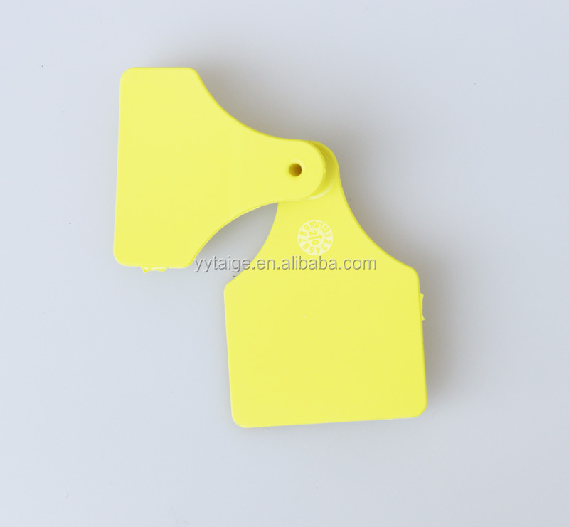 sell animal cattle ear tag,high76*width55mm