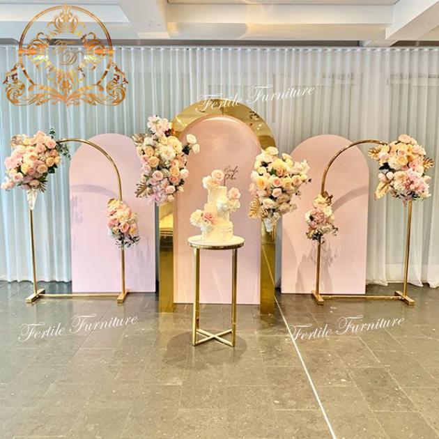 Boda decoración fiesta evento Metal flor Ballon marco arco de soporte