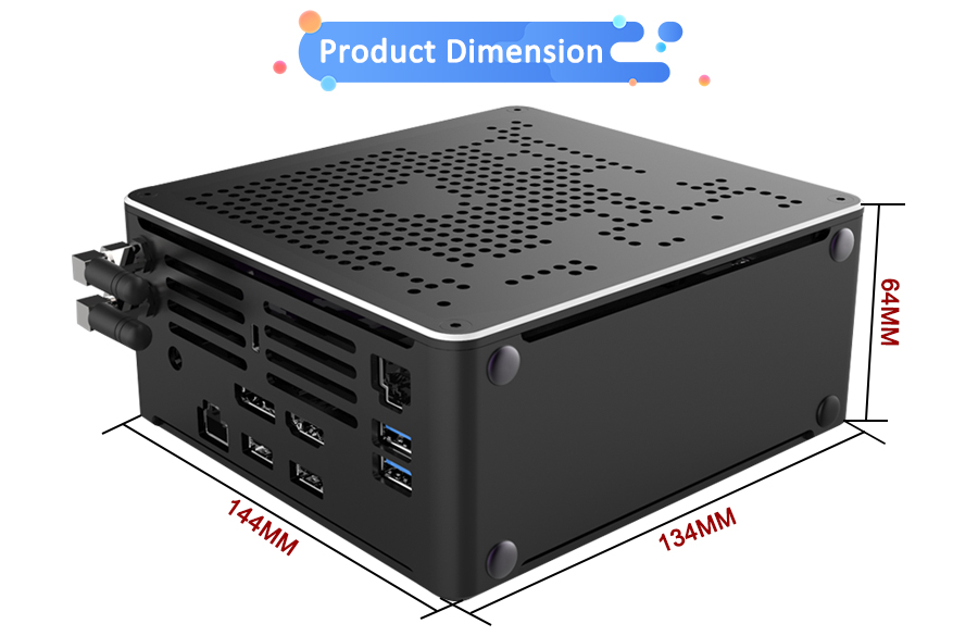 2020 New10th Gen Nuc i7 10750H i9 9880H 6 코어 i5 미니 PC 2 Lan Win10 2 * DDR4 2 * M.2 NVME AC WiFi 게임용 컴퓨터 노트북 4K DP HD